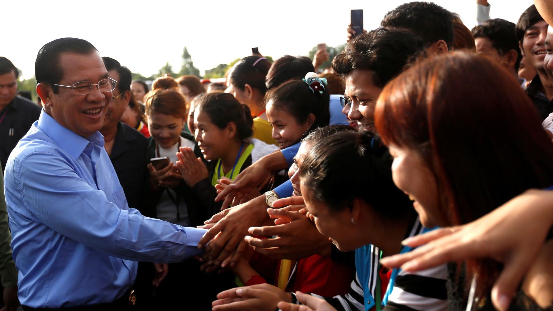Cambodian President Hun Sen