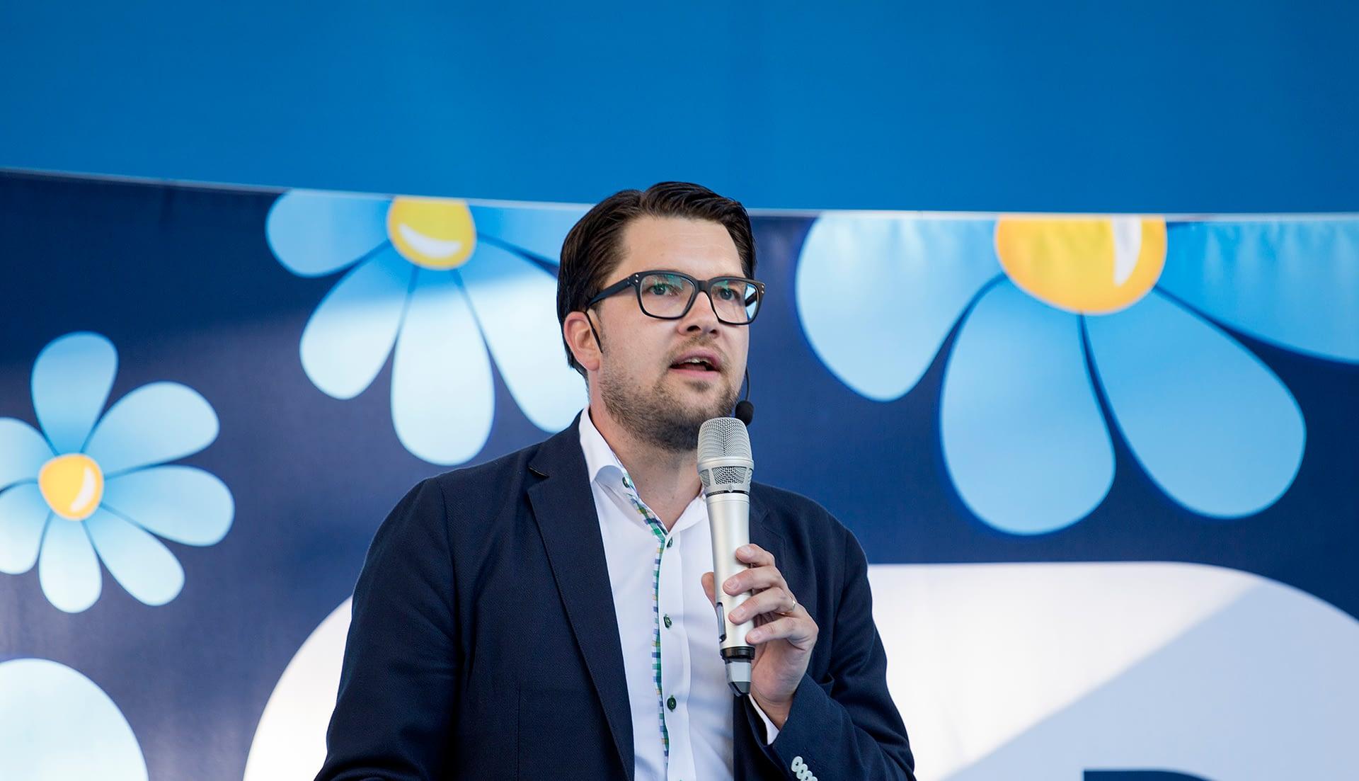 Jimmie Åkesson - authoritarian politician Sweden